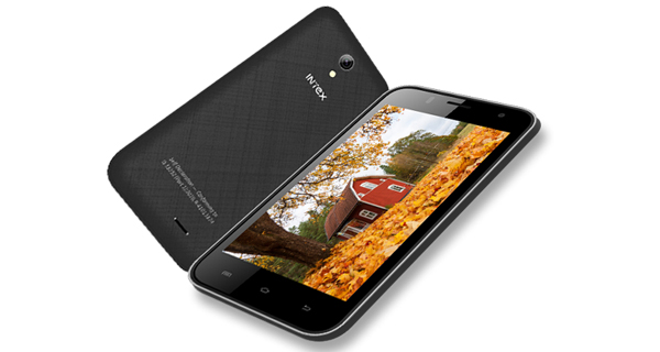 Intex Aqua Y4 Front and Back