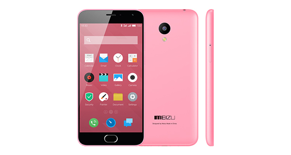 Meizu M2 Pink Color