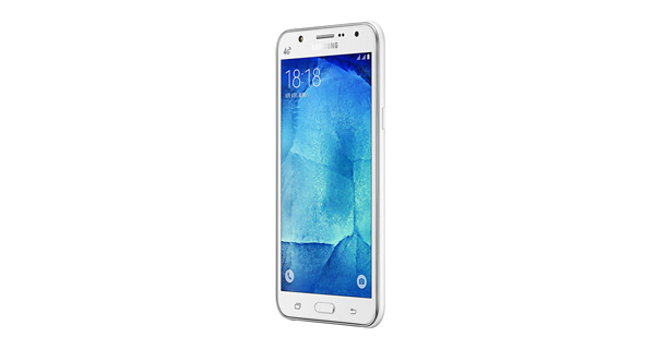 Samsung Galaxy J7 Front View