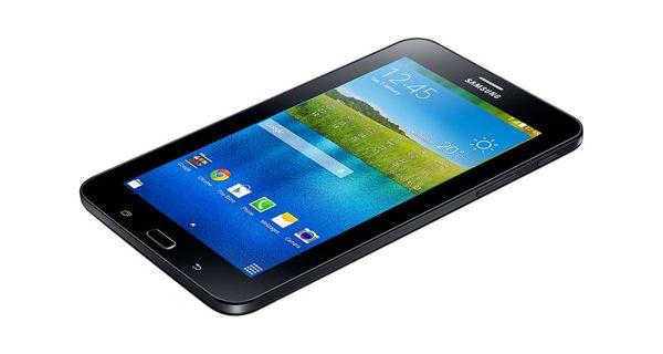 Samsung Galaxy Tab 3V Top View