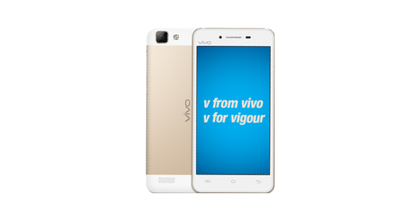 Vivo V1 Front and Back View