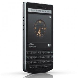 BlackBerry Porsche Design P'9983 Graphite Front View