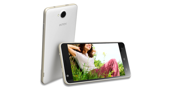 Intex Aqua Sense 5.0 White