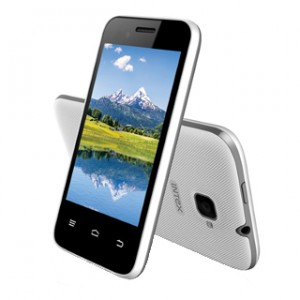 Intex Aqua V5 Front and Back View