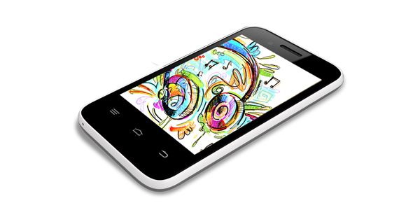 Intex Aqua V5 Top View