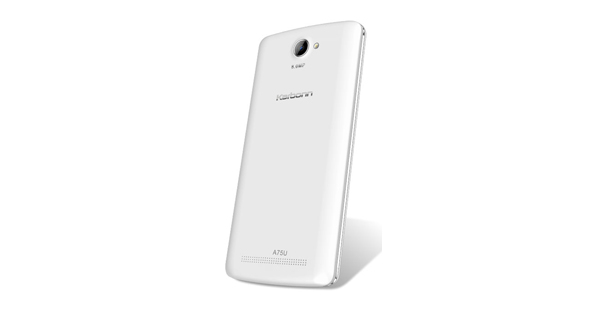 Karbonn Aura 9 Back View White Color