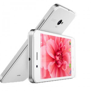 Lava Iris Atom 2 Front and Side View