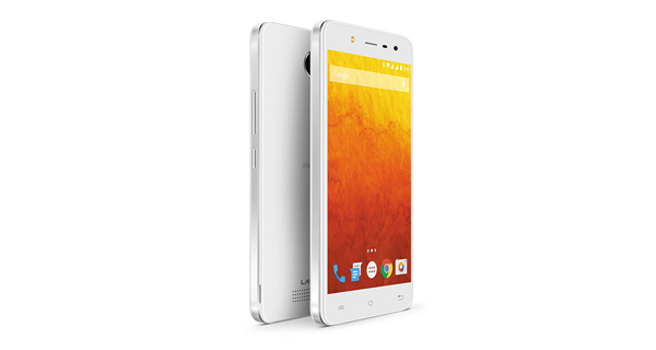 Lava Iris X1 Selfie Front and Back View