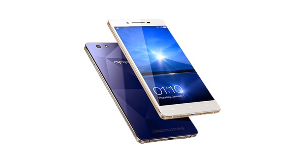 Oppo Mirror 5 Front and Back View