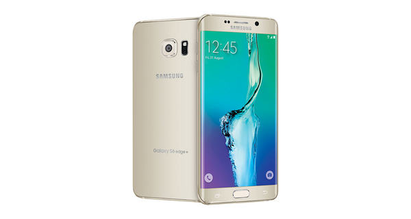 Samsung Galaxy S6 Edge+ Front Back View