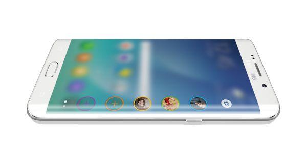 Samsung Galaxy S6 Edge+ Top View