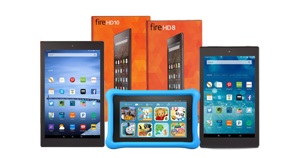 The New Range of Fire HD 8 and 10 tablets with Fire Kid Edition tablets introduced by Amazon