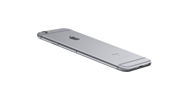 Apple iPhone 6s Plus Top View
