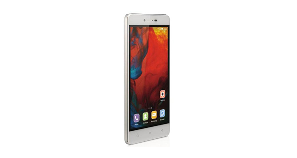Gionee F103 Front View White Color
