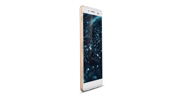 IBall Andi Cobalt Solus 4G Front and Side View