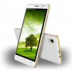 Intex Aqua Slice II Front and Back View