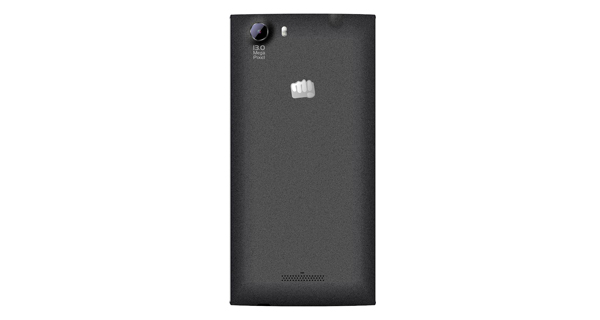 Micromax Canvas Play 4G Back View