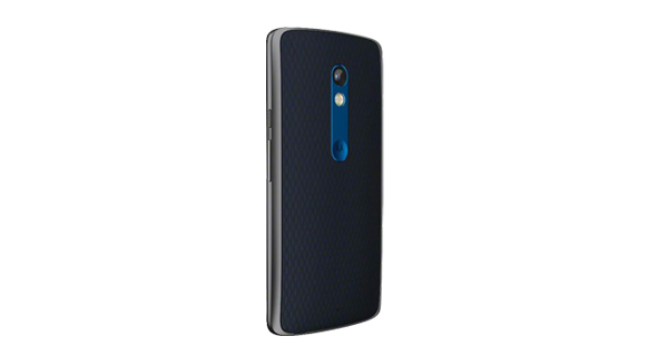 Motorola Moto X Play Back View Black Color