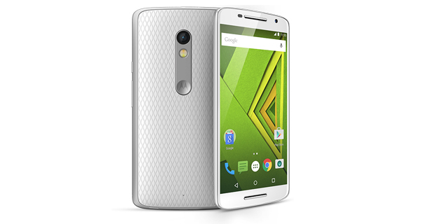 Motorola Moto X Play Front and Back View