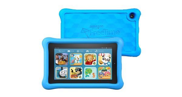 Amazon Fire Kids Edition Tablet Front and Back View