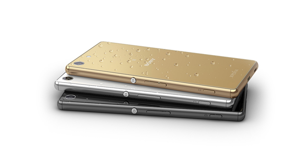 Sony Xperia M5 Dual Top and Back View