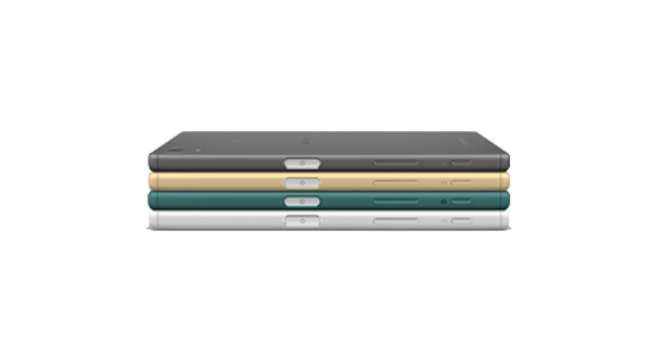 Sony Xperia Z5 Back and Side View