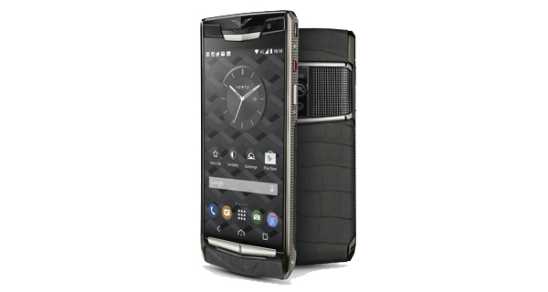 Vertu Signature Touch 2015 Front and Back View