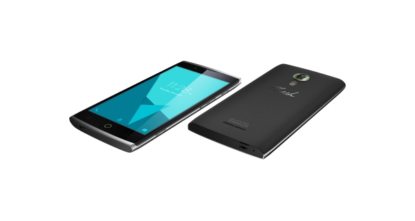 Alcatel One Touch Flash 2 Top and Back View
