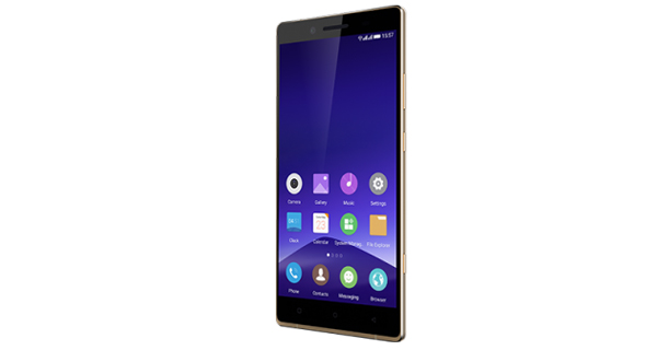 Gionee Elife E8 Front and Side View
