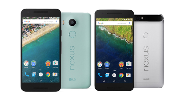 Google Nexus 5X, Nexus 6P launched in India; starts from Rs. 31,990