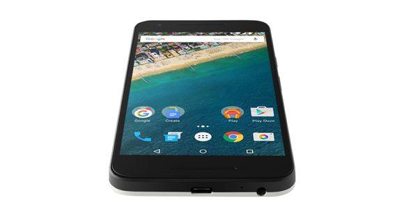 Google Nexus 5X Top View