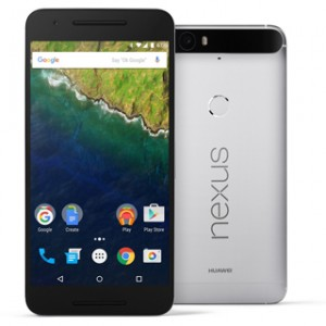 Google Nexus 6P Front and Back View