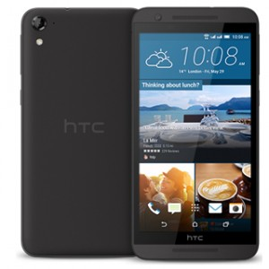 HTC One E9s Dual Sim Front and Back View