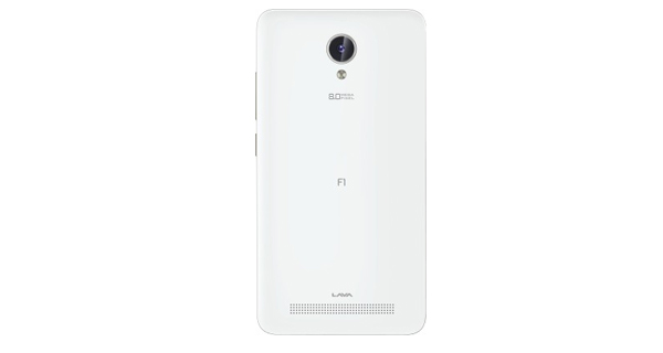 Lava Iris Fuel F1 Back View