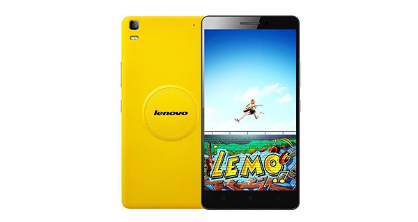 Lenovo K3 Note Music Side View Front and Back View