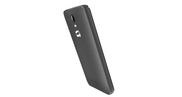 MIcromax Bolt Q339 Back and Side View