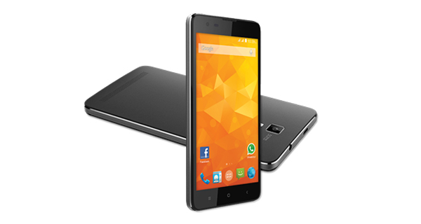 Micromax Bolt Q331 Front and Back View