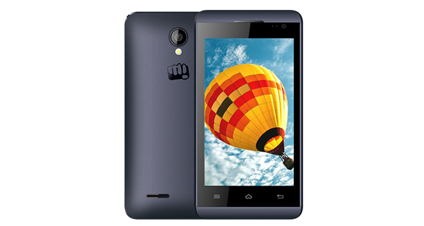 Micromax Bolt S302 Front and Side View