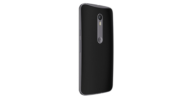 Motorola Moto X Style Back View