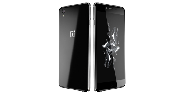 OnePlus X Front and Back View