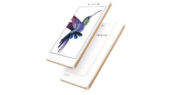 Oppo Neo 7 Front and Back View