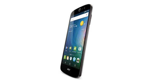 Acer Liquid Z530 Front and Side View