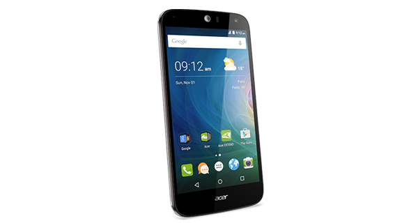 Acer Liquid Z630s Front and Side View