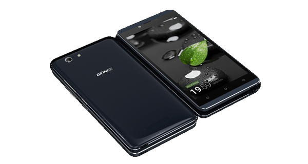 Gionee Elife S Plus Top View