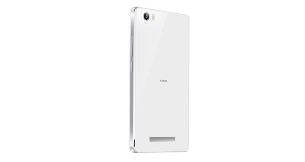 Lava Iris X10 Back View