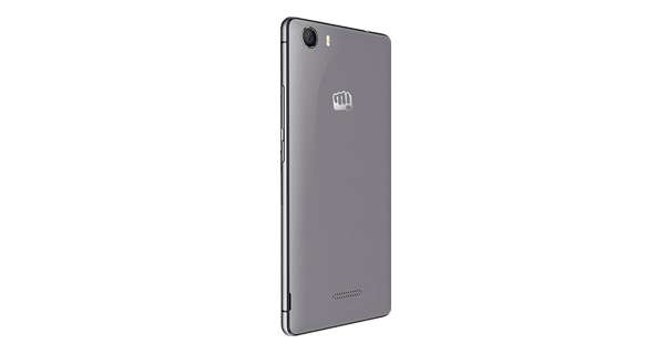 Micromax Canvas 5 Back View