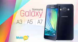 Samsung Galaxy A3, A5 and A7