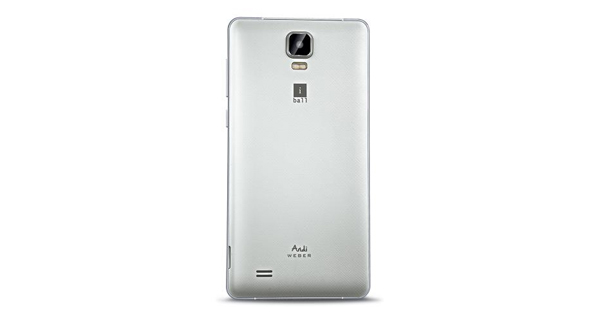 Gionee P5W Back View