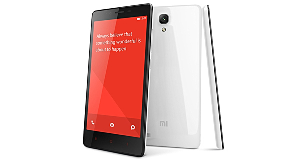 Xiaomi Redmi Note Prime Front and Back