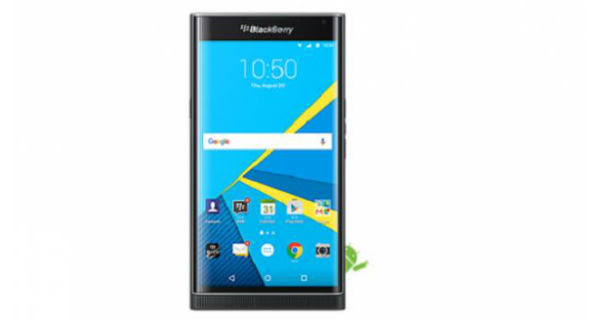 BlackBerry Priv Front